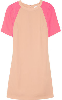 Camilla And Marc Neon two-tone crepe dress