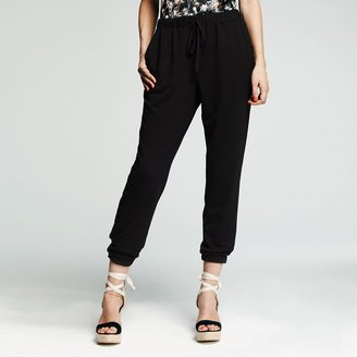 Peter Som for designation french terry soft pants - women's