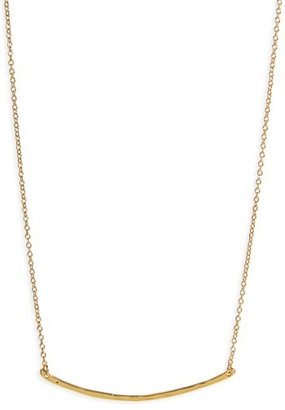 Women's Gorjana Taner Bar Small Necklace $60 thestylecure.com