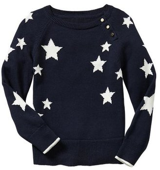 Gap Intarsia star sweater