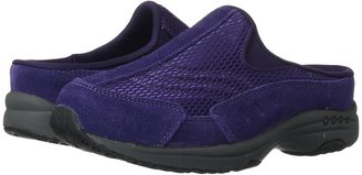 Easy Spirit Traveltime 31 (Dark Purple Combo Suede) - Footwear