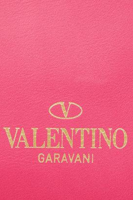 Valentino The Rockstud medium leather clutch