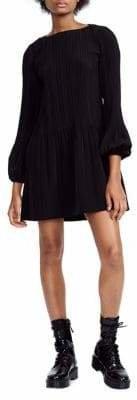Maje Rockin Pleated Dress