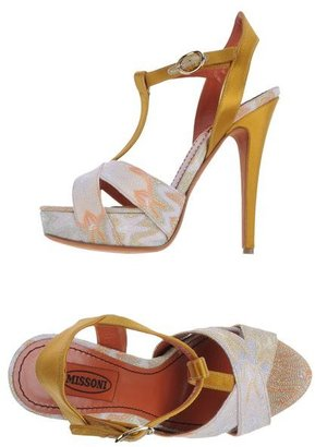 Missoni Platform sandals