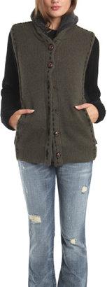 Charlotte Ronson Reversible Sweater Coat