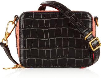 Stella McCartney Grace croc-effect faux leather shoulder bag