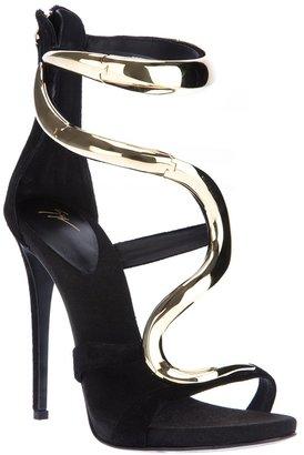 Giuseppe Zanotti Design hinged stiletto sandal