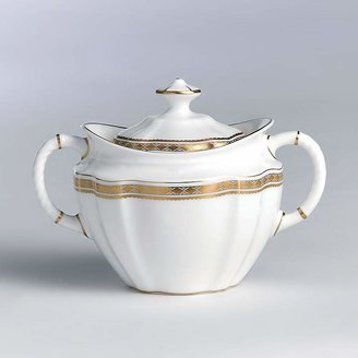 "Carlton Royal Crown Derby Gold"" Covered Sugar Bowl"