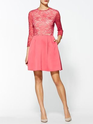 Erin Fetherston Fit And Flare Lace Dress
