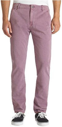 Levi's Pants, 508 Tapered Fit Purple Chinos