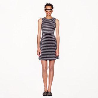 J.Crew Paneled stripe dress