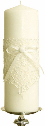 IVY LANE DESIGN Ivy Lane DesignTM Vintage Lace Pillar Candle