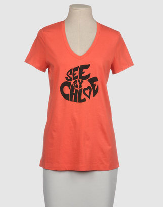 See by Chloe Short sleeve t-shirts