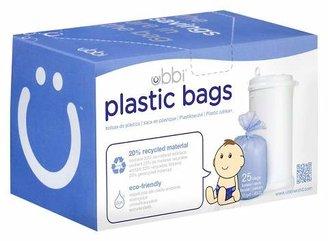 Pearhead Ubbi Plastic Diaper Pail Bags - White - 25ct