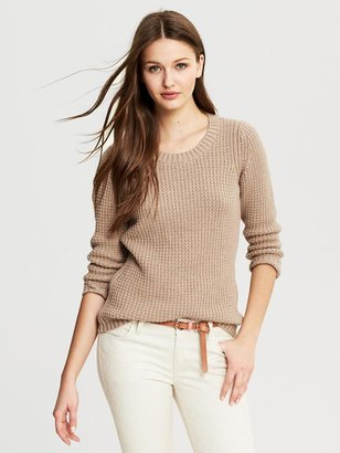 Banana Republic Textured Pullover