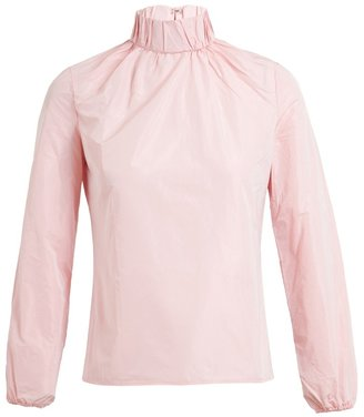 J.W.Anderson Ruched High-neck Top