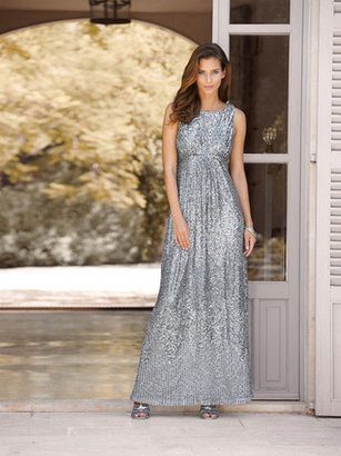 Teatro Sequin Maxi Dress
