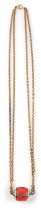 Vanessa Mooney Coral Pendant Necklace