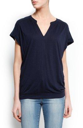 MANGO Gathering details blouse