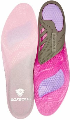 Sof Sole Sofsole Womens Gel Active Sport Insole 134002 Pink 3-8 UK