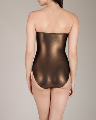 Sequined Bustier Swimsuit