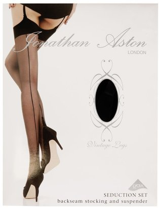 Jonathan Aston 15 denier Vintage seduction suspender