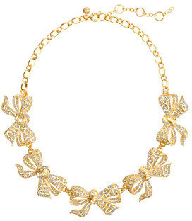 J.Crew Bow collar necklace