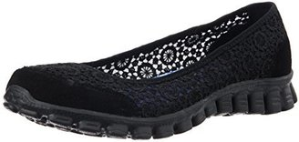 Skechers Sport Women's EZ Flex Sweetpea Slip-On Flat $60 thestylecure.com