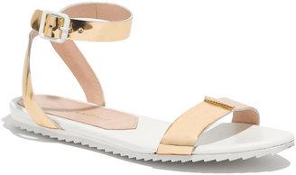 Loeffler Randall Metallic Gilda Sandals