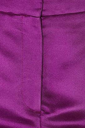 Burberry Silk-satin shorts