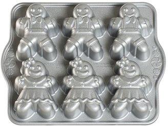 Nordicware 6-Cup Gingerbread Kids Cakelet Pan