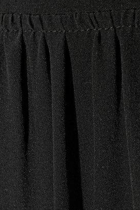 Tibi Open-back silk crepe de chine jumpsuit