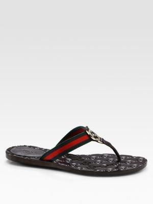 Gucci GG Thong Flats