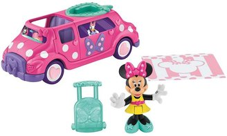 Fisher-Price Disney mickey mouse & friends minnie mouse limousine
