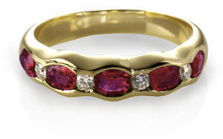 Aspinal of London Phoebe Wave Ring