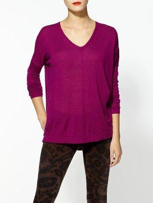 Rachel Zoe Line Knitwear Divider Sweater