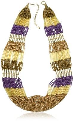 Antik Batik Nytia - Golden Beads Necklace