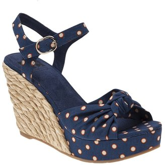 Seychelles Lightofday wedge polka dot sandal