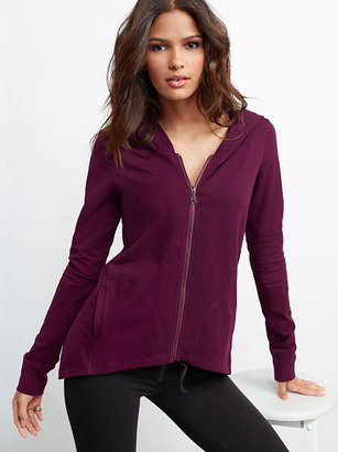 Victoria's Secret Hooded Yoga Jacket