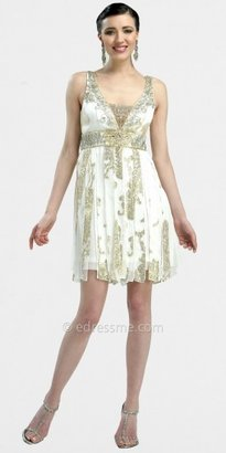 Sue Wong Beaded Silk Cocktail Dresses