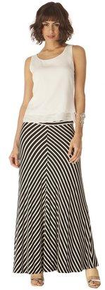 Veronica M Stripe Maxi Skirt