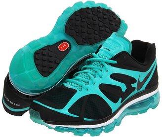 Nike Air Max+ 2012 (Black/New Green/White/Black) - Footwear