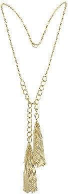 Forever 21 Double Tassel Necklace