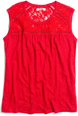 Madewell Linen & Lace Tank