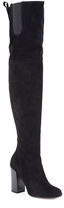 Givenchy Suede Thigh-High Boots