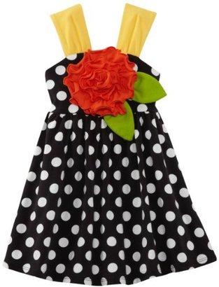 Bonnie Jean Girls 2-6X Knit Dot Sundress