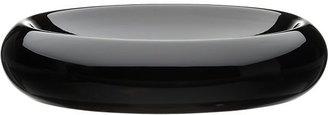 Crate & Barrel Low Black Centerpiece Bowl