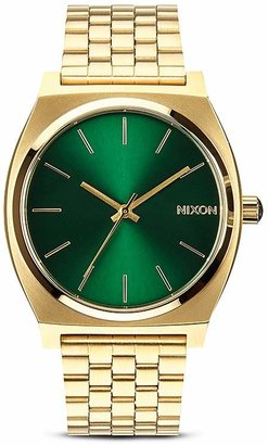 Nixon The Time Teller Sunray Dial Watch, 37mm $100 thestylecure.com