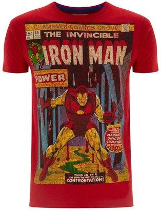 Iron Man Men's Fabric Flavours T-Shirt