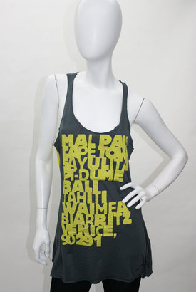 291 from Venice Go Naked Slate and Grape Tunic Tank